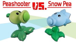 getlinkyoutube.com-Plants vs. Zombies Pea Shooter Popper vs. Snow Pea Shooter Popper