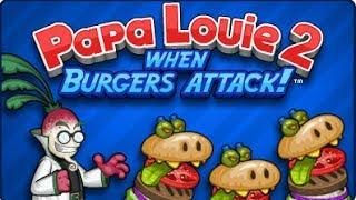 getlinkyoutube.com-Papa Louie 2: When Burgers Attack Full Walkthrough