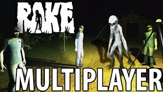 getlinkyoutube.com-NOW THERE ARE 4 | Rake Multiplayer Part 1