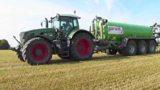 getlinkyoutube.com-Profi-Gülleservice mit Fendt Vario 936TMS + Kotte Garant VTR 25.000