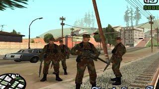 getlinkyoutube.com-مود الشرطة 24 ساعة (اضمام مع الجيش العسكري) GTA San andreas + ربط التحميل