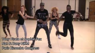 getlinkyoutube.com-Tony Pirata et Sophie Fox - Nat & Dany NKM - Paris Kizomba Congress