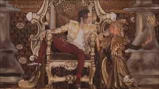 "getlinkyoutube.com-KENTO MORI(ケントモリ) Michael Jackson ""Slave To The Rhythm"" [Billboard Music Awards 2014]"
