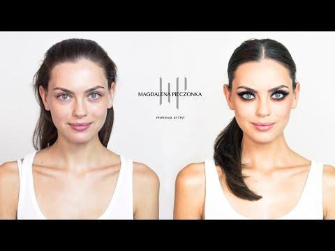 Makijaż KOCIE OKO - jak zrobić makeup krok po kroku