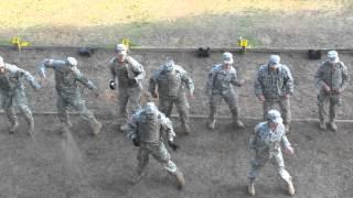 getlinkyoutube.com-Army Cupid Shuffle training at the range
