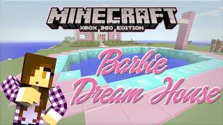 getlinkyoutube.com-Minecraft Xbox | Barbie Dream House - Pool Party Plans [3]