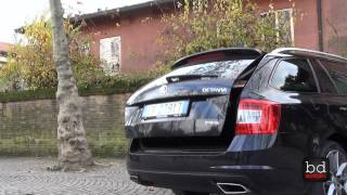 getlinkyoutube.com-Prova su strada - Skoda Octavia Wagon RS 2.0 TDI DSG