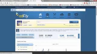 الدرس 1 : أفضل شرح لموقع ادفلاي adf.ly كيف تربح منه يوميا 50$
