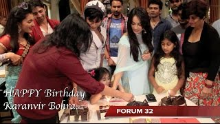 getlinkyoutube.com-Qubool Hai | Karanvir Bohra Birthday Celebration