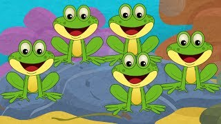 getlinkyoutube.com-Five Little Frogs
