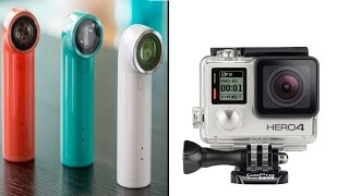 HTC RE Vs GoPro Silver 4 Review!