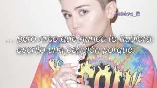getlinkyoutube.com-Miley Cyrus - BB Talk (Subtitulada al español)