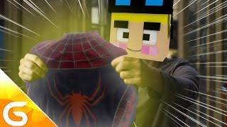 getlinkyoutube.com-불량배가 가져온 거미에 물려 스파이더맨이 된다..?! [병맛 스토리모드 상황극 : 슈퍼 히어로 모드] 마인크래프트 Minecraft [진호]