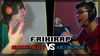 getlinkyoutube.com-FRIKIRAP - SHARKNESS VS KEYBLADE