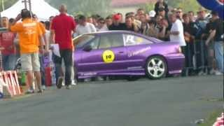 getlinkyoutube.com-Opel Calibra Turbo vs Opel kadett V8 - Gorica 2012 -