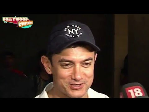 Aamir Khan Kiran Rao Imran and Avantika Come to Watch Hollywood Movie 'Star Strek Into Darkness'