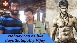 getlinkyoutube.com-Nobody can be like Ilayathalapathy Vijay says Charandeep | Puli | Tamil Movie | Pluz Media Tamil