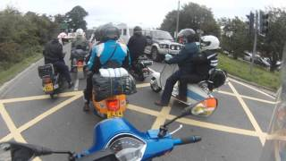 getlinkyoutube.com-BIG 7 On Route to Isle of Wight Scooter Rally 2015