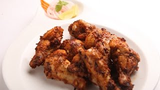 getlinkyoutube.com-Awesome Cajun Spice Chicken Wings Recipe with Philips Airfryer by VahChef