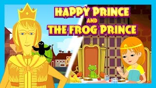 getlinkyoutube.com-Happy Prince and The Frog Prince  - Story Compilation For Kids || Storytelling For Children