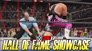 getlinkyoutube.com-WWE 2K17 Hall of Fame Showcase - STING vs BRET HART!! (WWE 2K17 2K Showcase DLC)