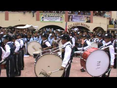 Presentación de banda escolar Santa Clara La Laguna 2011