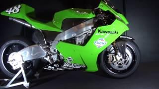getlinkyoutube.com-Kawasaki Ninja ZX-RR(2002)  Ninja ZX-RR(柳川仕様) 元MotoGP・世界GPライダーの中野真矢 Kawasaki Good Times World