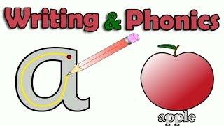 getlinkyoutube.com-ABC, Alphabet Writing, Letter Sounds, Learn English Phonics, Animated Video For Children