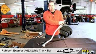 getlinkyoutube.com-Rubicon Express Adjustable Track Bar For 2013 Jeep JK Wrangler