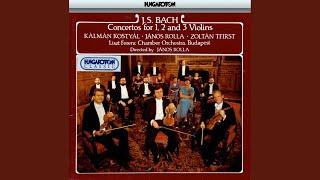 II. Concerto in G minor for Violin and Strings BWV 1056: I. (Allegro)