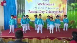 getlinkyoutube.com-KG kids dance performance - Bangalore - India