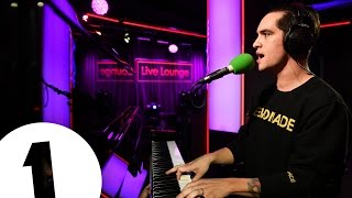 getlinkyoutube.com-Panic! At The Disco cover Starboy by the Weeknd/Daft Punk in the Live Lounge