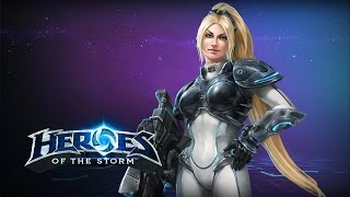 getlinkyoutube.com-♥ Heroes of the Storm (Gameplay) - The New Nova (HoTs Quick Match)