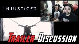 getlinkyoutube.com-Injustice 2 Story - AJ Reaction & Roster/Gear Analysis