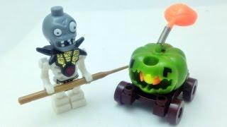 getlinkyoutube.com-yg Plants vs zombies 2 좀비 미니피규어와 완두콩 발사 호박 레고 짝퉁 플랜츠 앤 좀비 Lego knockoff