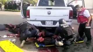 Policía Federal difunde video tras balacera en Apatzingán