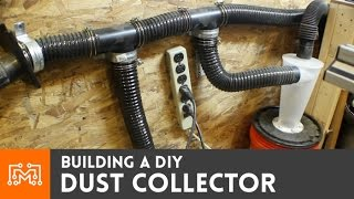 getlinkyoutube.com-How to make a dust collector with a wet/dry vac
