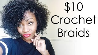getlinkyoutube.com-$10 Crochet Braids - Model Model Water Wave Hair