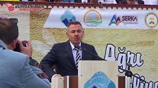 2. Ağrı Bal Festivali - Vali Süleyman Elban'ın Konuşması
