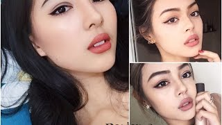 getlinkyoutube.com-Sexy Makeup Look Inspired By Lilymaymac || #DEVIENNAMAKEUP