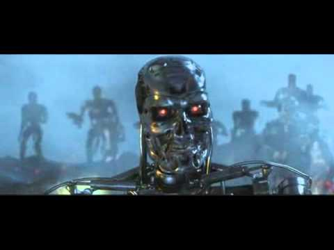 Terminator metal theme music video