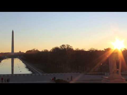 Washington DC Sunrise Time- Lapse