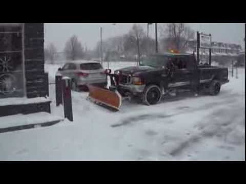 HILLYARD CUSTOM RIM&TIRE SNOW STORM SNOW DAY FORD DIESEL SNOW PLOW
