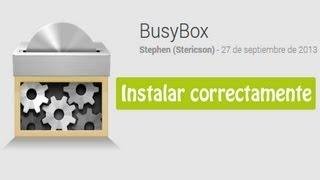 Busybox Tutorial instalar correctamente en Android - Sirve para Swapper, Seeder, terminal, etc.