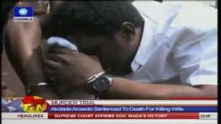 getlinkyoutube.com-Man Sentenced To Death For Killing Wife Bursts Into Prayers