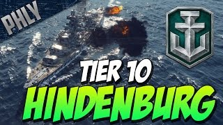 getlinkyoutube.com-EPIC GUNS! & SCREW AIRCRAFT CARRIERS! (World Of Warships Hindenburg Gameplay)