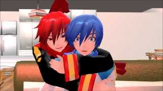getlinkyoutube.com-【MMD】Shut Up and Sleep With Me, Kaito!