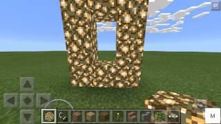 getlinkyoutube.com-Как сделать портал в рай в Minecraft Pe 0.13.0?