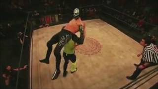 getlinkyoutube.com-Angelico Ivelisse and Son Of Havoc vs Disciples Of Death Lucha Underground Highlights