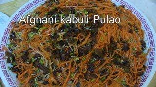 getlinkyoutube.com-Kabuli Pulao Recipe - Delicious Afghan Food